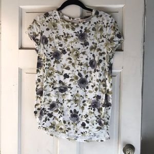 Floral t-shirt from Anthropologie